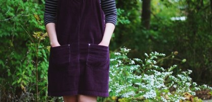 Overall Dresses Aren't Just For Homeschoolers Anymore