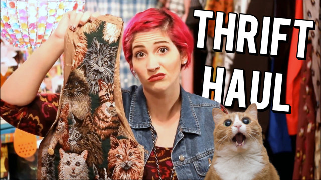 Don't miss my new star studded thrift haul! I'm not saying Beyonce is in it but I'm also not NOT saying she's in it.