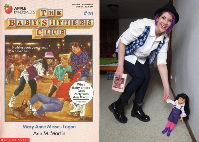Claudia Kishi of The Babysitters Club outfit recreation