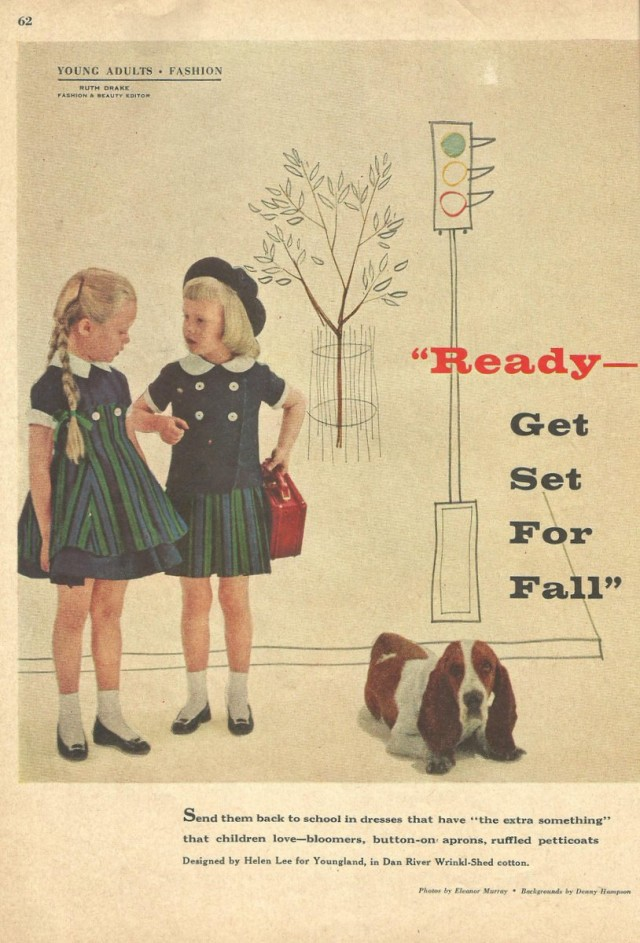 """August 1956 """"Redbook"""" magazine 