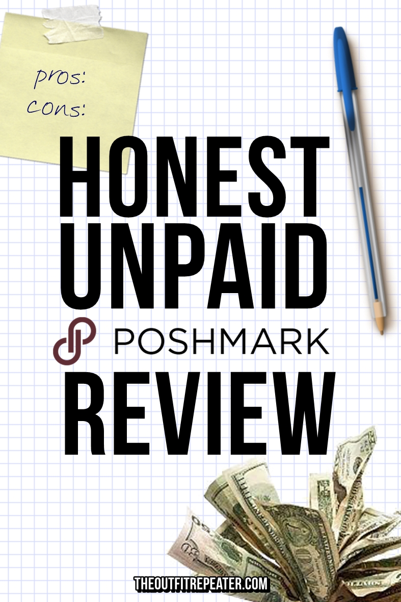 An Honest, Unpaid Poshmark Review + Selling Tips