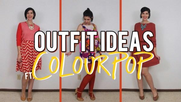 ColourPop ultra glossy lipstick in Tarot. Fall makeup idea