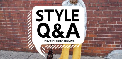 Style Q&A with Clothes and Pizza