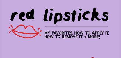 My Holy Grail Red Lipsticks