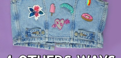 4 Ways To Use Iron On Patches (Other Than On Your Jacket!)