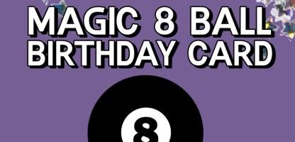 Making Magic! DIY 1980s Inspired Greeting Card