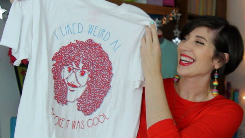 hannah rupp the outfit repeater september thrift haul weird all t-shirt busted tees