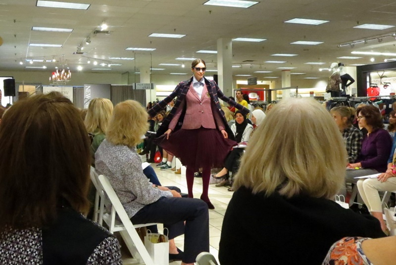 The Outfit Repeater, Hannah Rupp, Fashion Blog, Runway Show, Ford Models, Boston Store: New & Now Fashion & Beauty Event, WKOW TV 27 News Anchor Caroline Bach, West Towne Mall, Madison Wisconsin