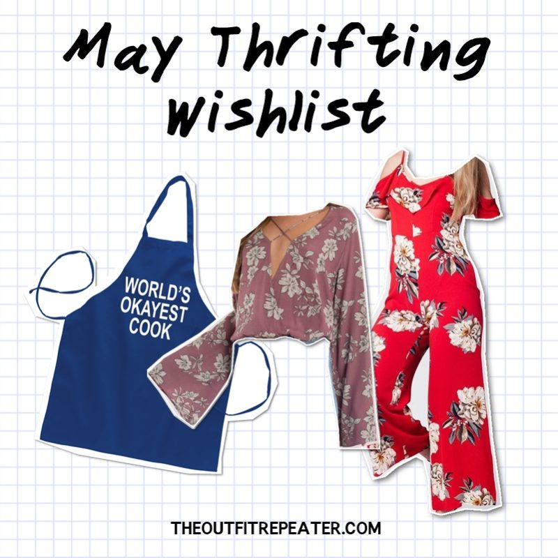 Awesome April Thrift Haul Video + May Thrifting Wishlist