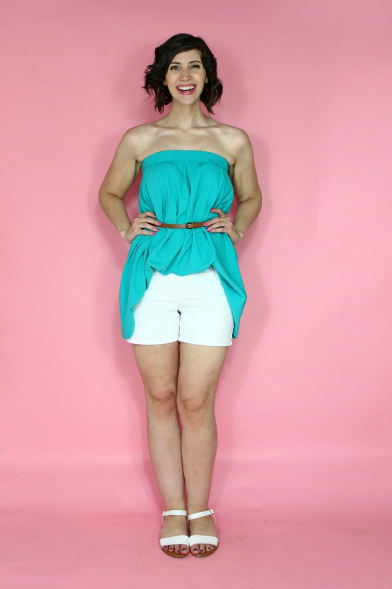 hannah rupp the outfit repeater colorful summer capsule wardrobe challenge