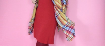 3 Ways To Wear a Blanket Scarf This Fall