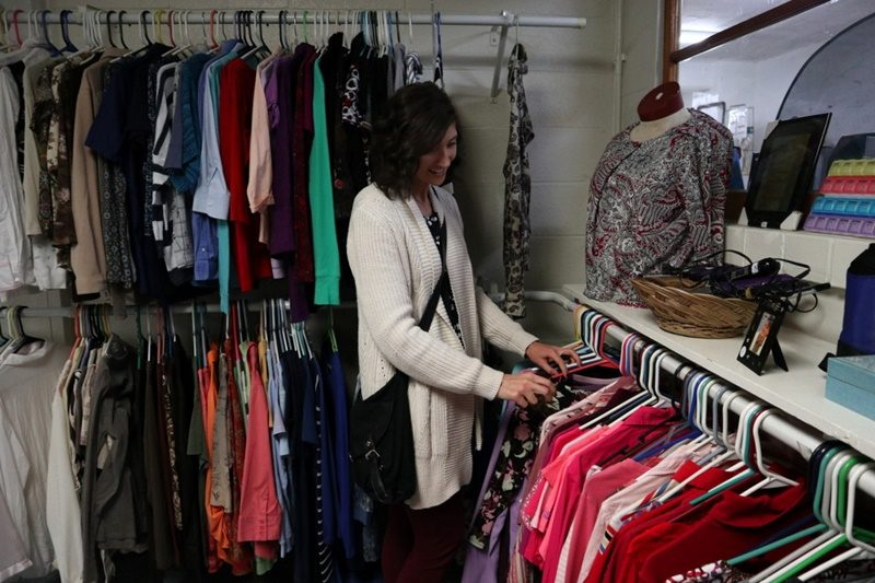 wisconsin thrift stores best favorite affordable cheap benton church volunteer hannah rupp the outfit repeater