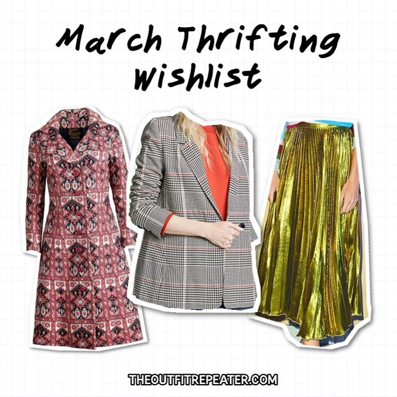 february thrift haul video goodwill hannah rupp the outfit repeater