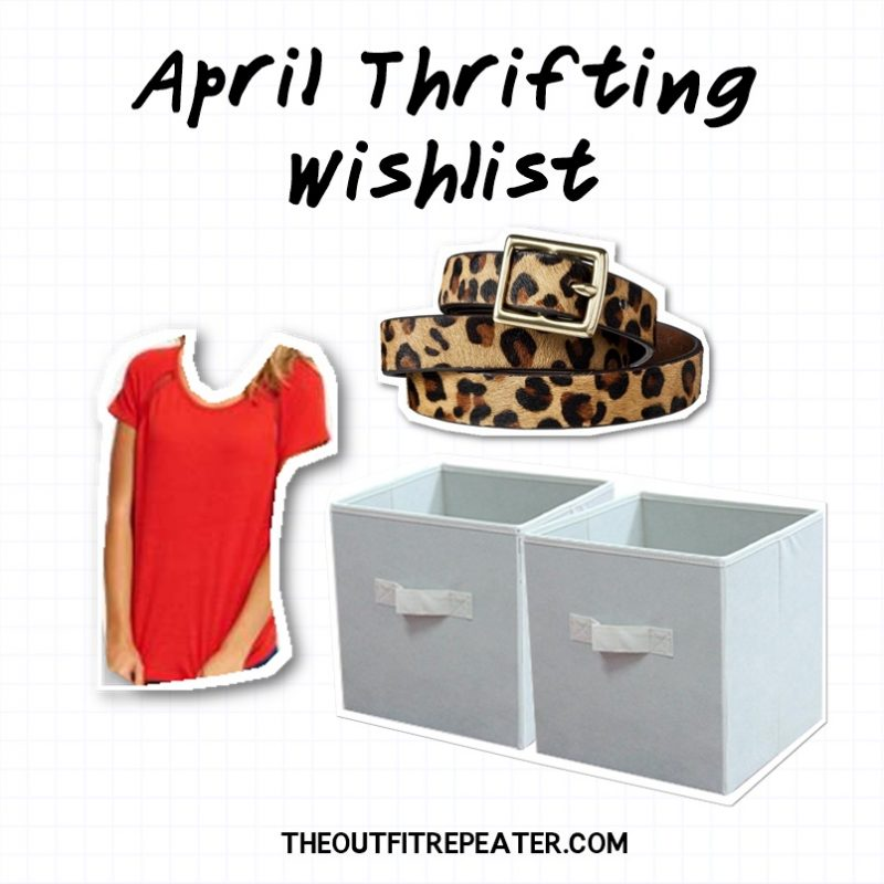 march thrift haul video goodwill 2019 hannah rupp the outfit repeater