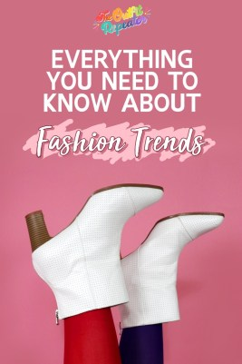 """pink background, text """"Everything You Need To Know About Fashion Trends"""", hannah rupp the outfit repeater"""