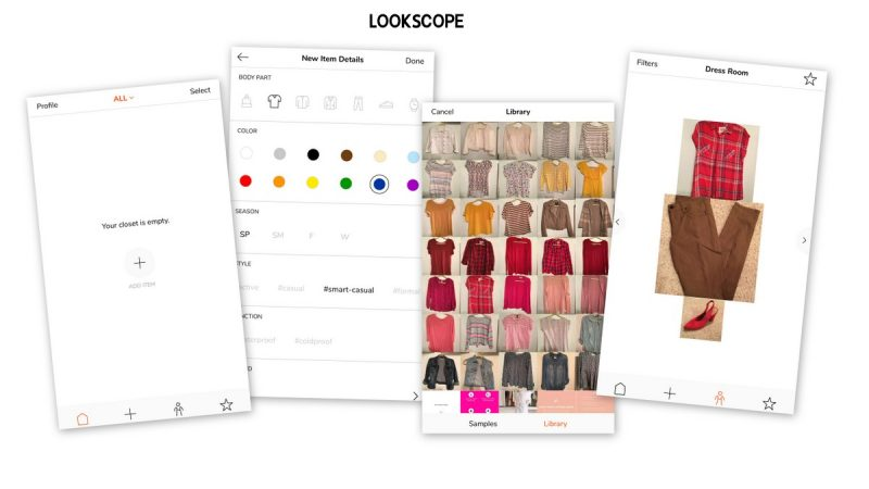 outfit planning app lookscope iphone reviews hannah rupp the outfit repeater