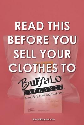 buffalo exchange selling mail blog post