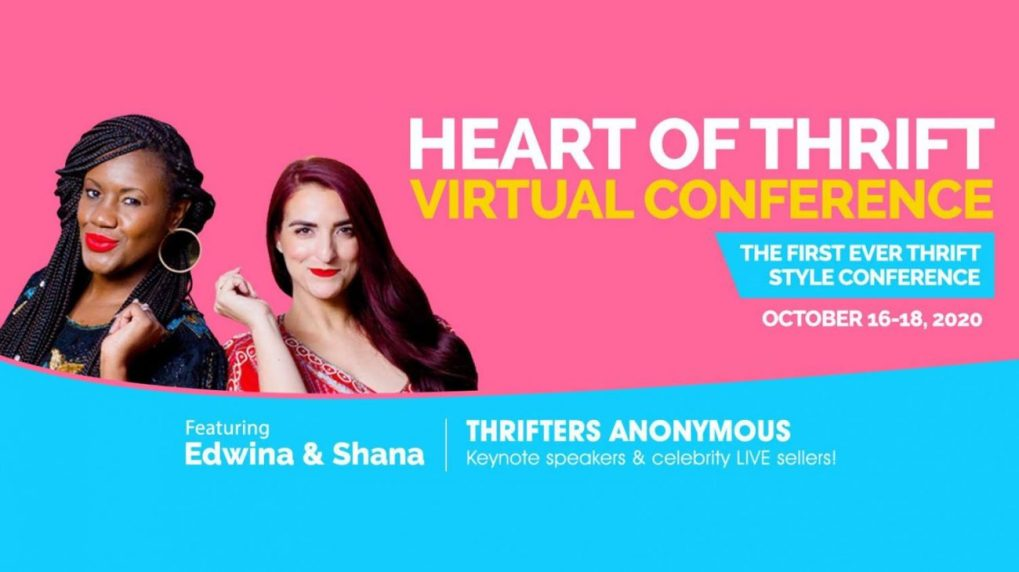 promotional image for The First Heart of Thrift Conference 2020