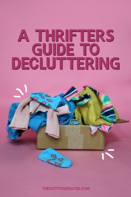 thrifters guide how to declutter your closet the outfit repeater hannah rupp