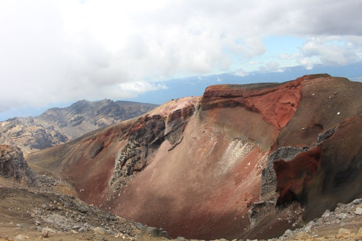 Looking into The Red Crater