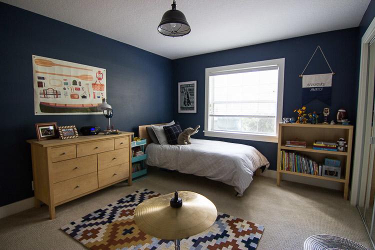 Boy's Bedroom Refresh