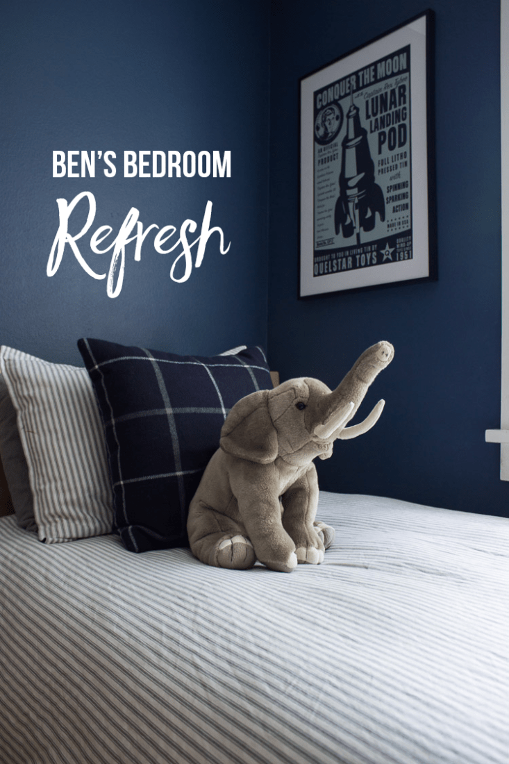 Ben's Bedroom Refresh - taking one month to refresh and update the room