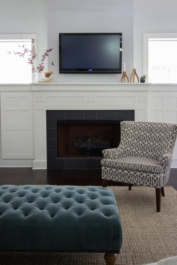 Living Room Refresh - The Outside & In