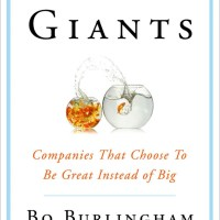 Recent Read: Small Giants by Bo Burlingham - The Outside and In