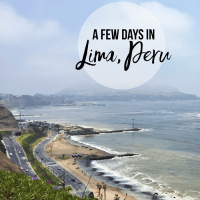 A Few Days in Lima + Pierina's Eclectic Urban Oasis