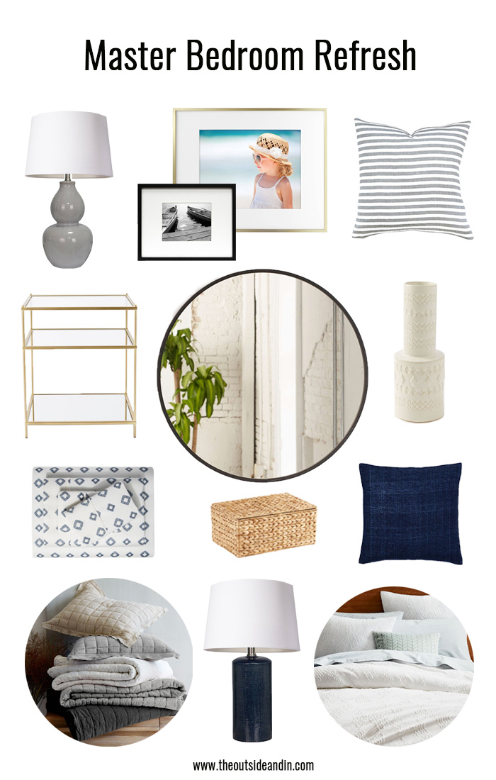 Inspiration & Plans for a Master Bedroom Refresh - The Outside and In