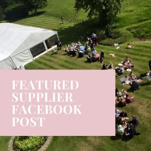 Featured Supplier Facebook Post The Outside Bride Products