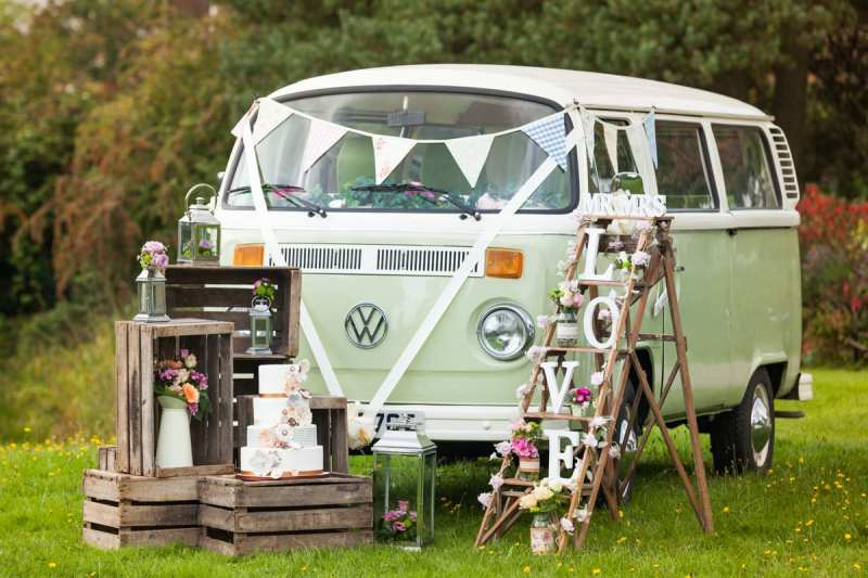 Buttercup Bus Vintage Campervan Photobooths, Wedding Transport and Self drive honeymoons