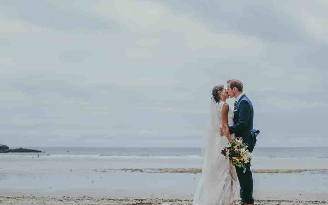 Emma & Davids' Marquee Wedding at The Beach Meadow, Caerhays Estate