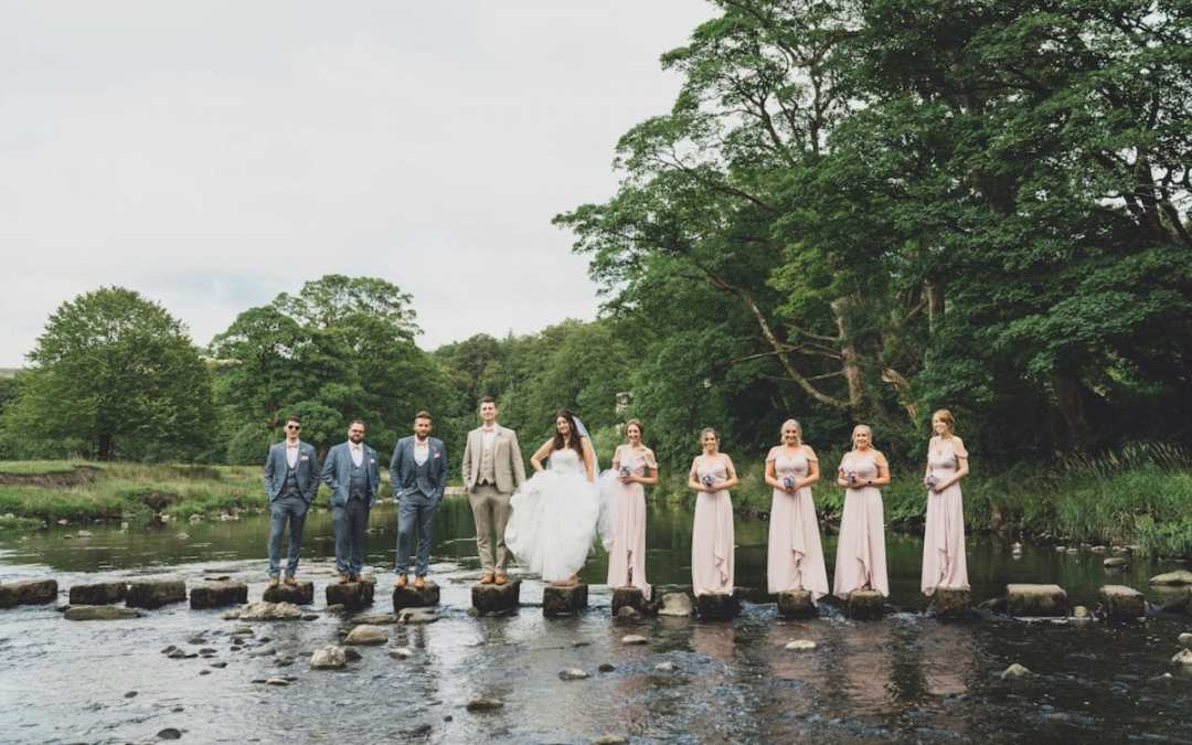 Laura & Ben's Marquee Wedding Over the River Hodder