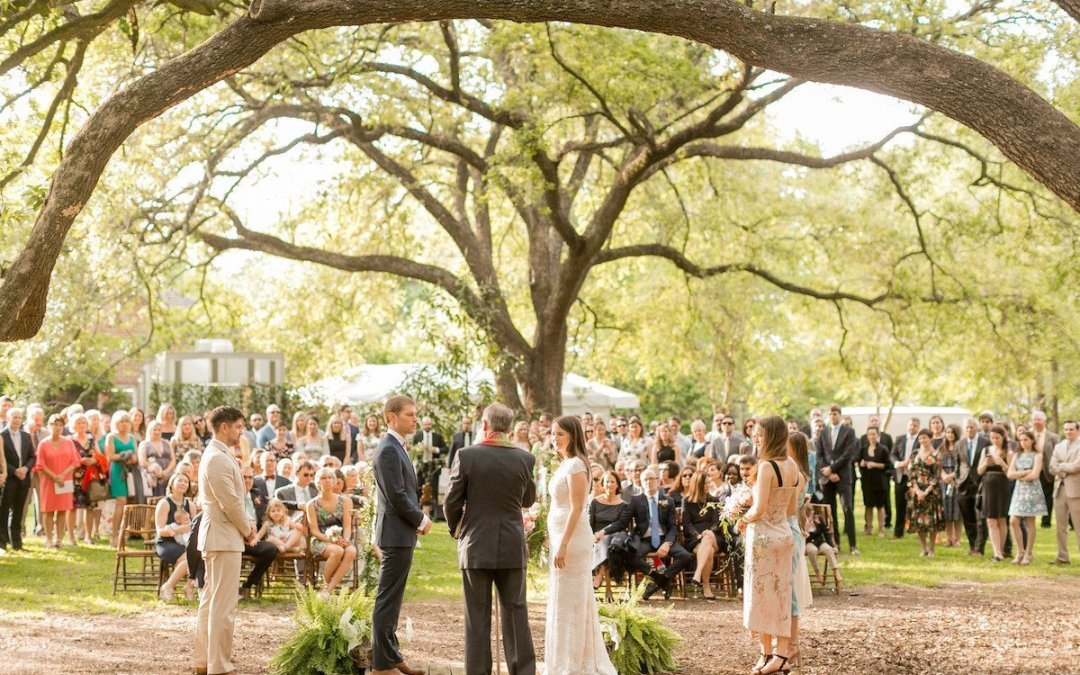 Elegant Southern Backyard Wedding