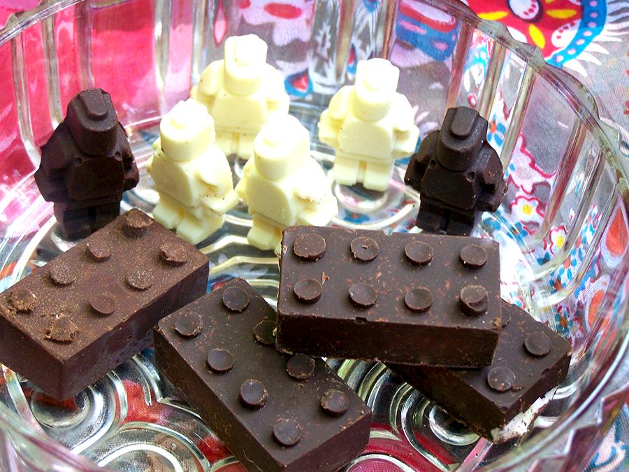 Chocolate Robot Invasion!