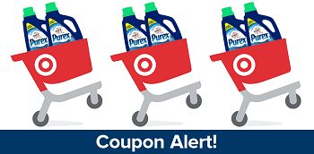 Purex Detergent on #Cartwheel! Use This Coupon to Get 10% Off At Target!