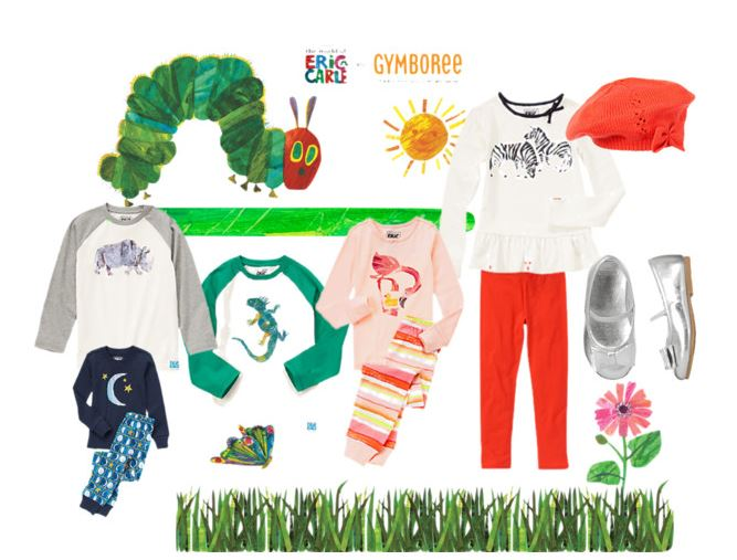 Eric Carle Collection at Gymboree!