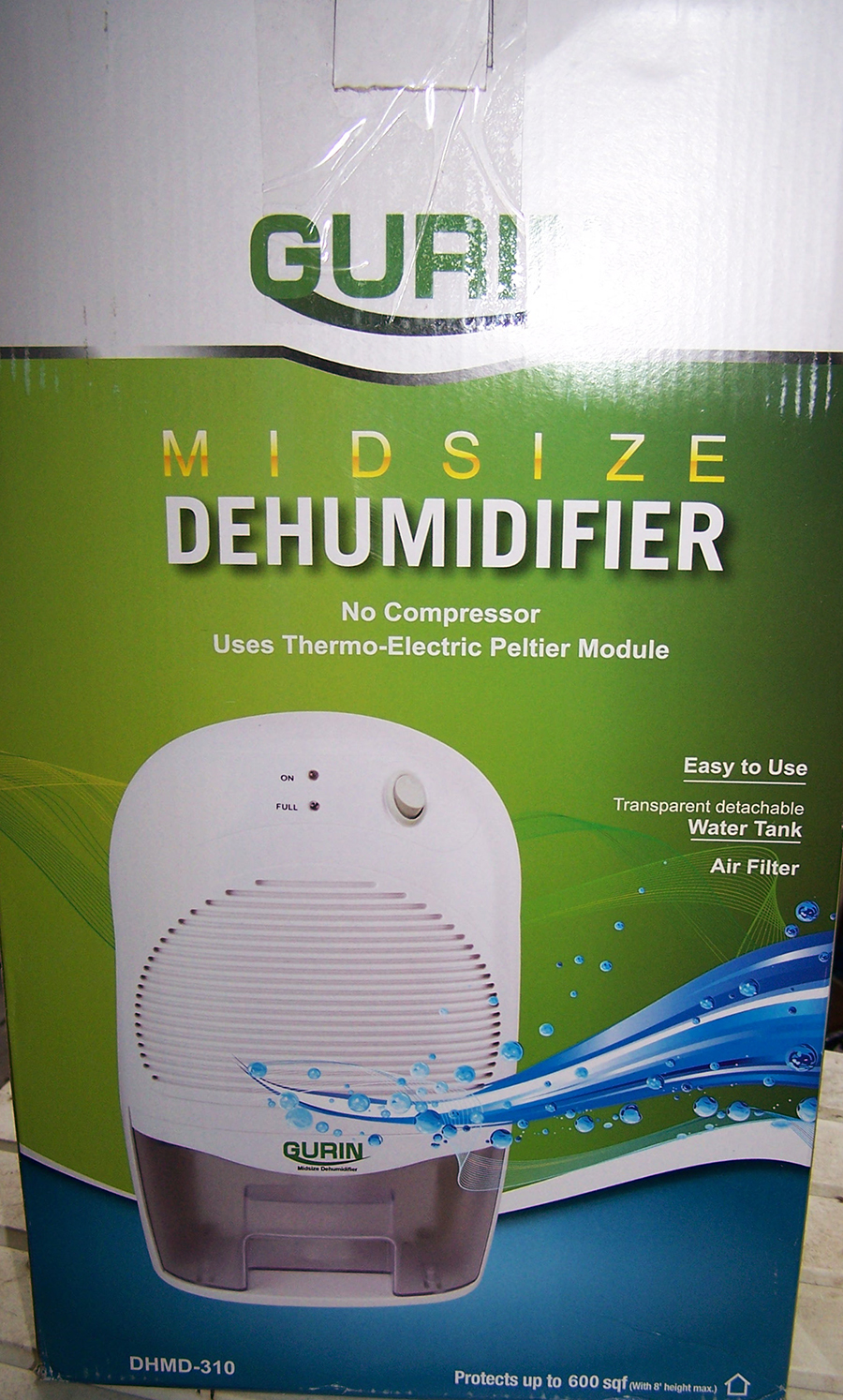 Gurin Mid Size Electric Dehumidifier – Tank Capacity 1500 ml Review