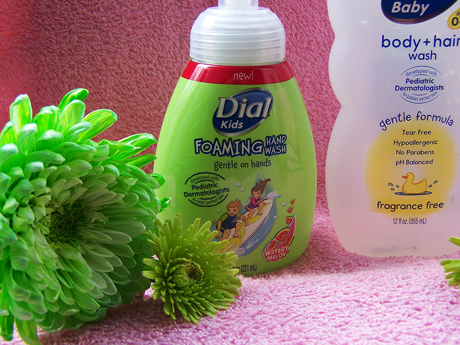 Dial Kids Hand Soap + Baby Body & Hair Wash Giveaway! Ends 05/22