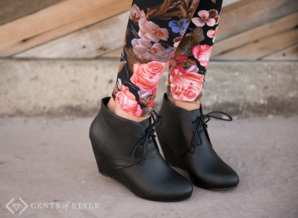Lace-up Ankle Bootie $21.95 & FREE SHIPPING – 3 Ways to Style Ankle Booties