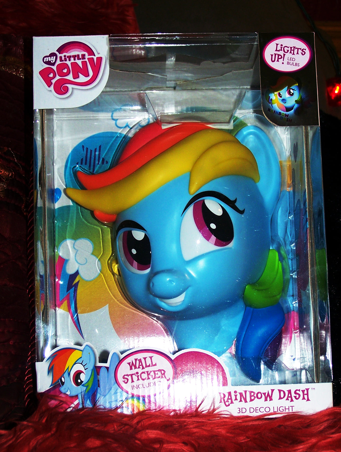 My Little Pony Rainbow Dash 3d light fx lights nightlight kids children gifts toys collect collectibles toy play friendship is magic decor bedroom