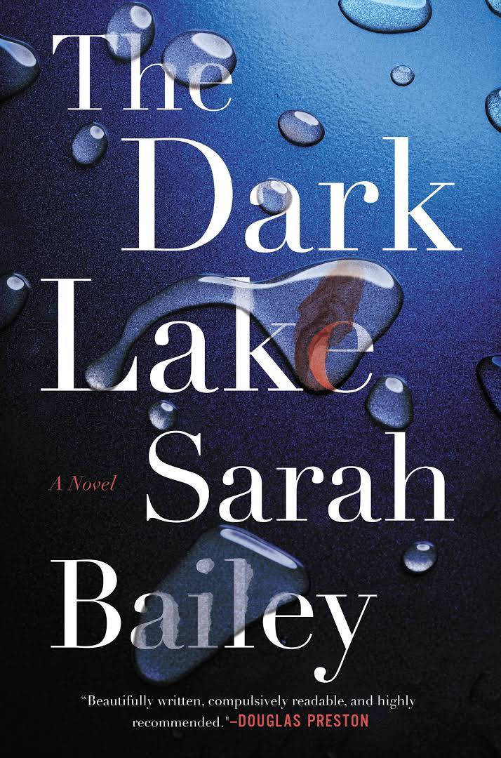 The Dark Lake book books review book bloggers mystery Australia thriller murder police novel fiction