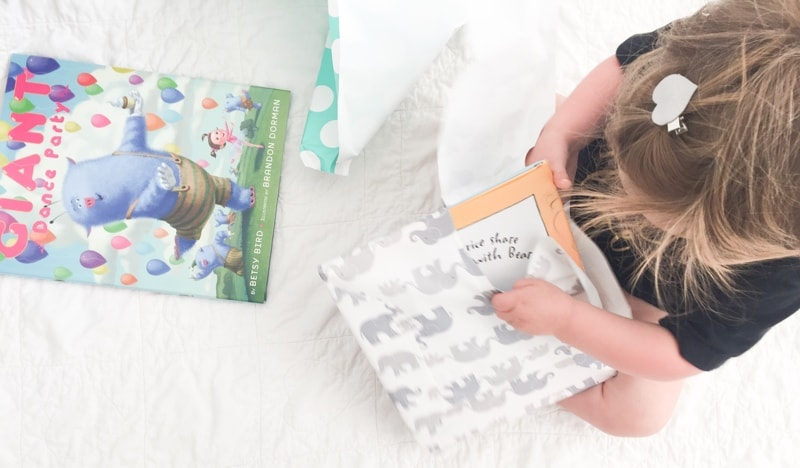 bookroo subscription box holiday gift guide blog kids toddlers babies books
