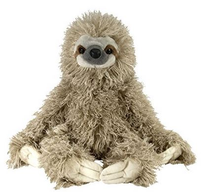 sloth stuffed plush wild republic toy toys kis children holiday gift guide blog ideas presents gifts cute trendy