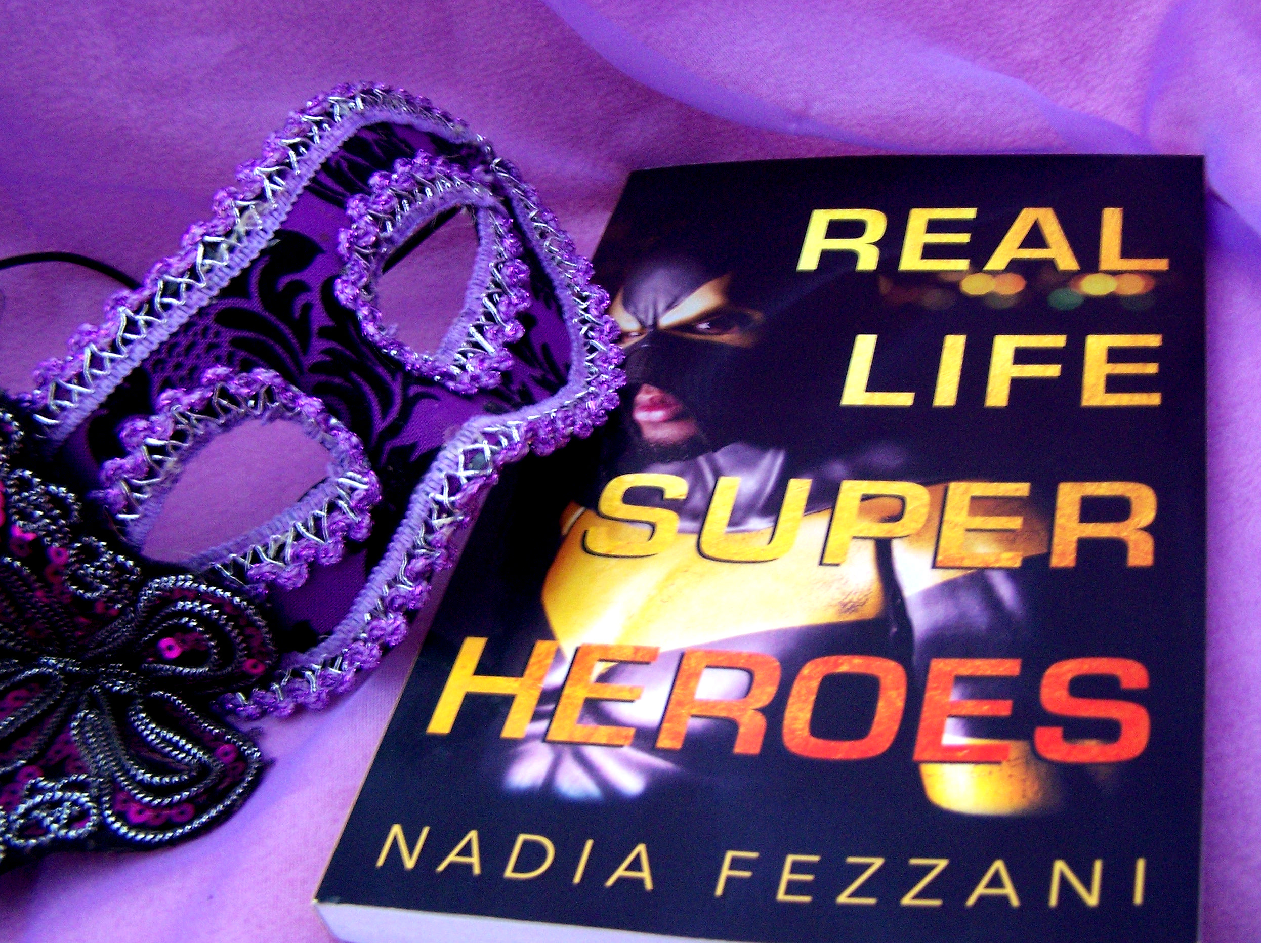 real life super heroes nadia fezzan book books reading giveaways reviews holiday gift guide masks mask non fiction crime real life stories phoenix jones