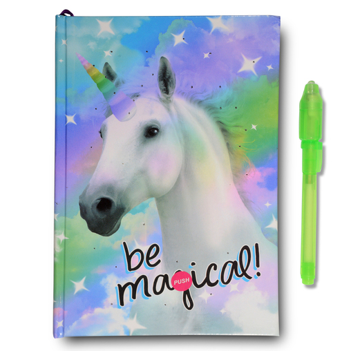 unicorn diary girls easter gifts baskets smitco fun toys presents diary journal