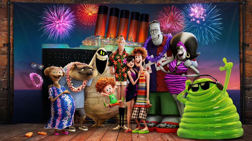 hotel transylvania 3 three drac pac dracula cartoon film dvd blueray release new film show pr frindly check kids tweens family fun halloween