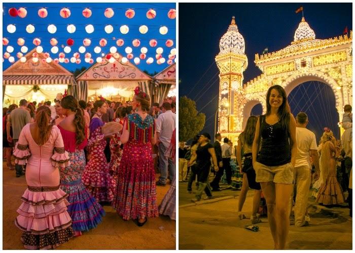 La Feria de Abril, Sevilla, Spain