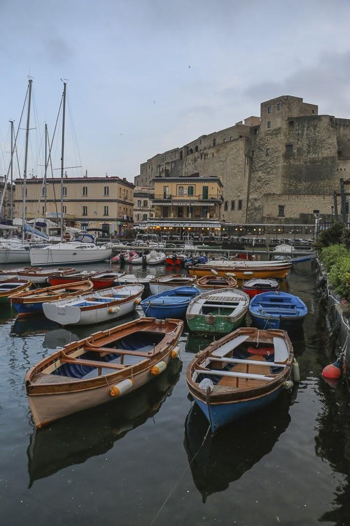 Naples, Italy, Ovo Castle